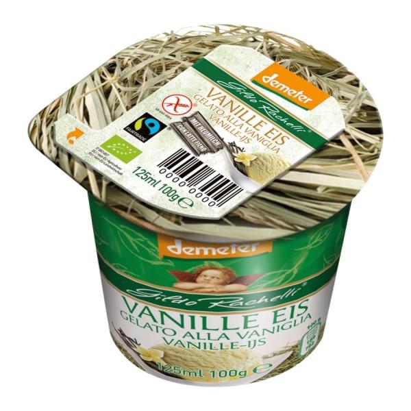 Eisbecher Vanille DEMETER, 125ml