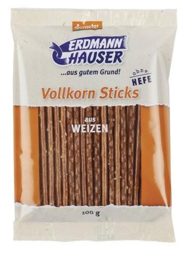 Vollkorn Sticks aus Weizen hefefrei, 100g