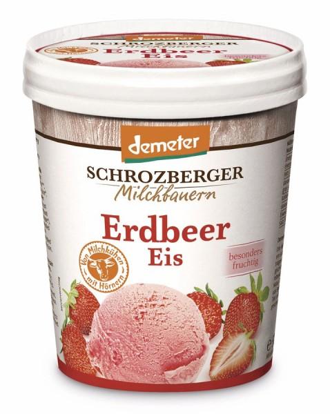 Familieneisbecher Erdbeere DEMETER, 500ml