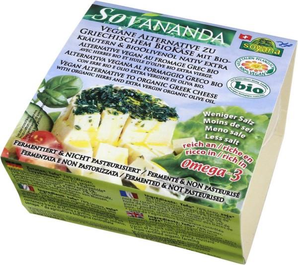 Soyananda vegane Alternative zu gr. Käse m. Kräut., 200g