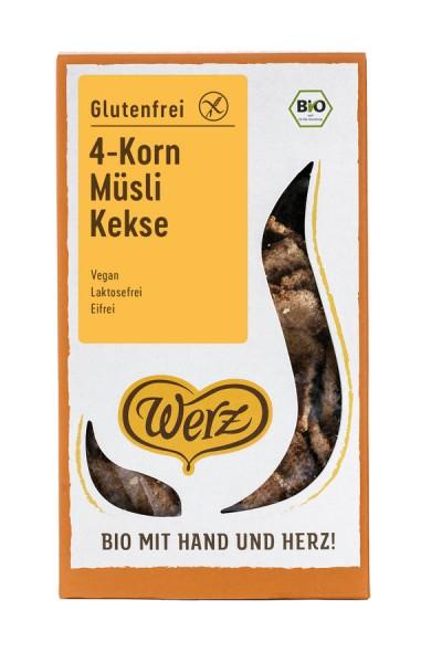 4-Korn-Vollkorn-Müsli-Keks glutenfrei, 150g