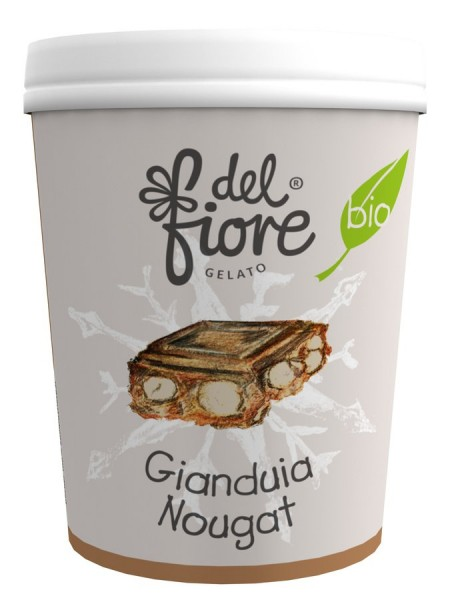 Familieneisbecher Gianduia Nougat, 500ml