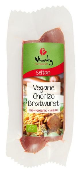 WHEATY Veganwurst Chorizo Bratwurst 2St, 130g