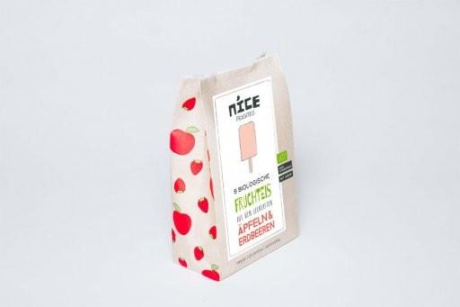 Stieleis Apfel-Erdbeere - Multipack, 5x45ml