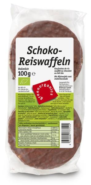 Schoko-Reiswaffeln Vollmilch, 100g
