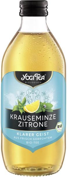 YOGI TEA Krauseminze-Zitrone mit Pfefferminze, 0,33l