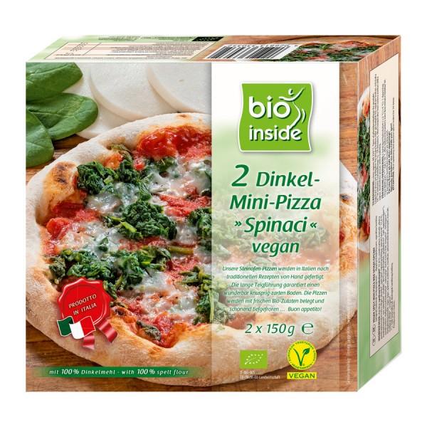 TK-Mini-Pizzen Spinaci vegan bio inside, 2x150g