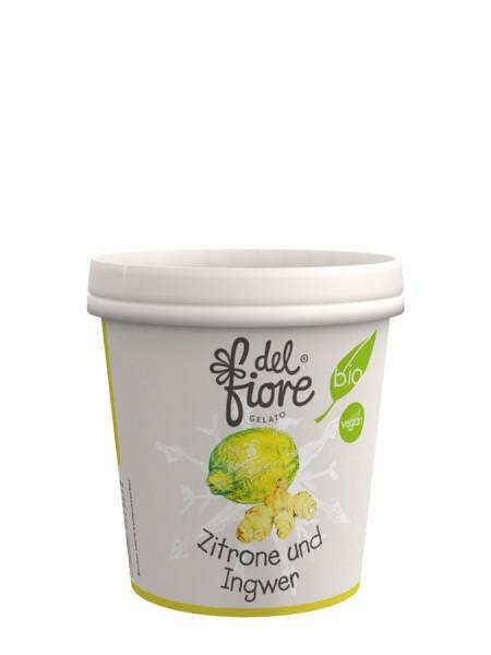 Eisbecher Zitrone & Ingwer Sorbet, 130ml