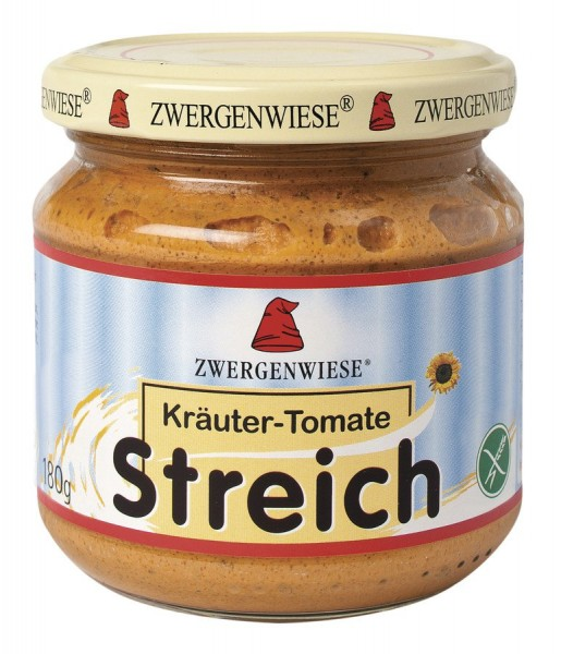 Streich Kräuter-Tomate glutenfrei, 180g