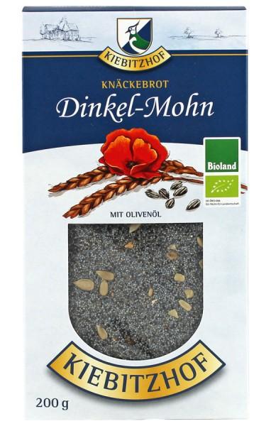 Knäckebrot Dinkel-Mohn BIOLAND, 200g
