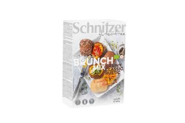 Aufbackbrötchen Brunch-Mix glutenfrei 3 Sorten, 200g