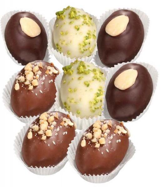 Marzipan-Eier gemischt - Grossgebinde, Stück