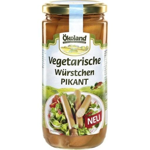 Würstchen vegetarisch pikant 6St, 200g