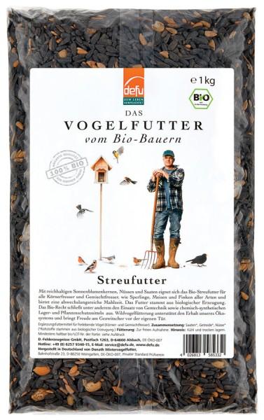 Vogelfutter DEFU Streufutter, 1kg