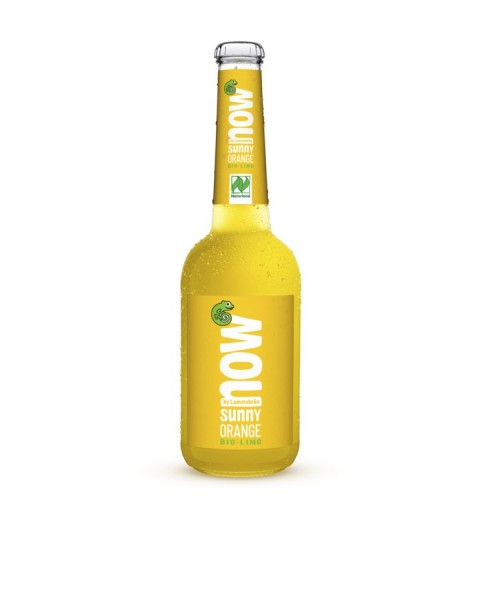 NOW Sunny Orange glutenfrei NATURLAND, 0,33l