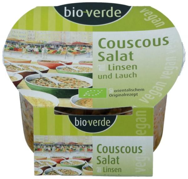 Couscous-Salat mit Linsen & Lauch vegan, 125g