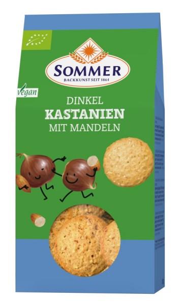 Dinkel-Kastanien-Mandelplätzchen, 150g