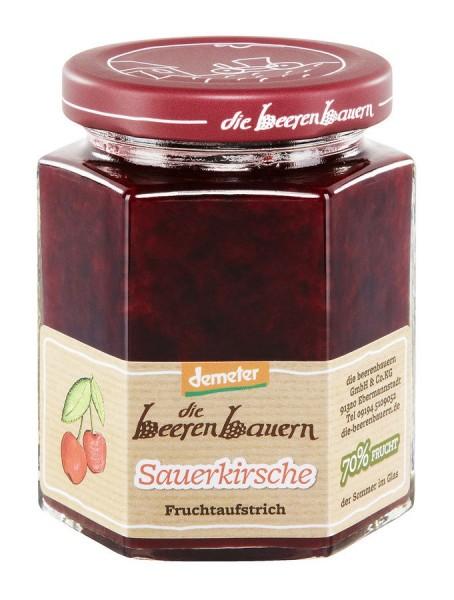 Aufstrich Sauerkirsche DEMETER, 200g