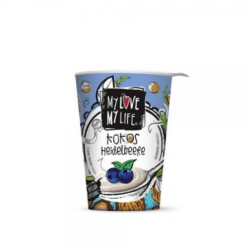 MyLove MyLife Kokoscreme Heidelbeere, 180g