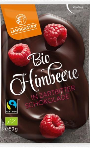 Himbeere in Zartbitter-Schokolade FairTrade, 50g