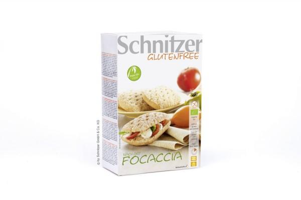Aufback-Focaccia glutenfrei 2St, 220g