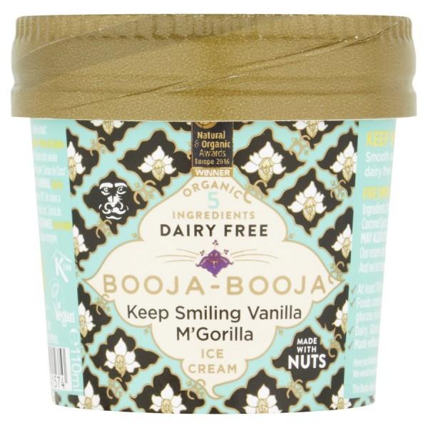 Eisbecher Keep Smiling Vanilla M`Gorilla, 110ml