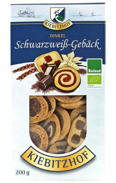 Dinkel-Schwarz-Weiß-Gebäck BIOLAND, 200g