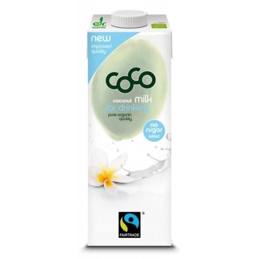 CoCo Milk for Drinking - Tetrapak, 1,0l