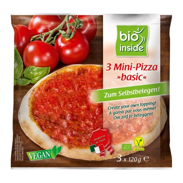 TK-Mini-Pizza basic bio inside, 3x120g