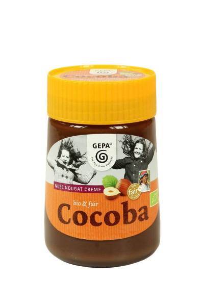 Nuss Nougatcreme Cocoba FairTrade, 400g