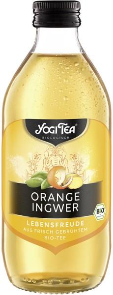 YOGI TEA Orange-Ingwer mit Basilikum, 0,33l