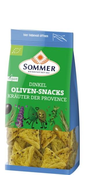 Dinkel-Oliven-Snacks Kräuter der Provence, 150g