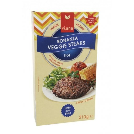 Bonanza Veggie Steaks 2St, 210g