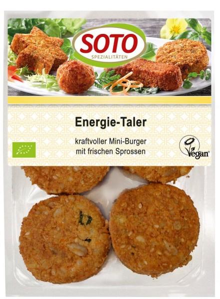 Energie-Taler mit Sprossen & Tofu vegan 8St, 250g
