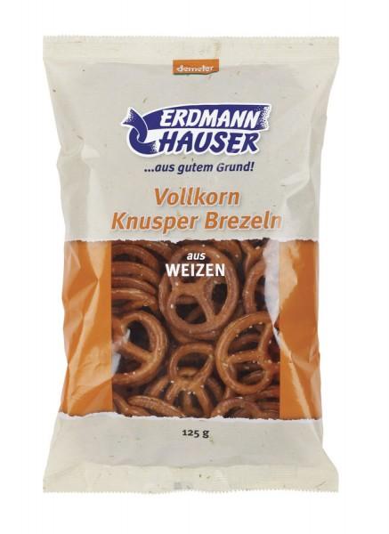 Weizen-Vollkorn-Knusperbrezeln DEMETER, 125g