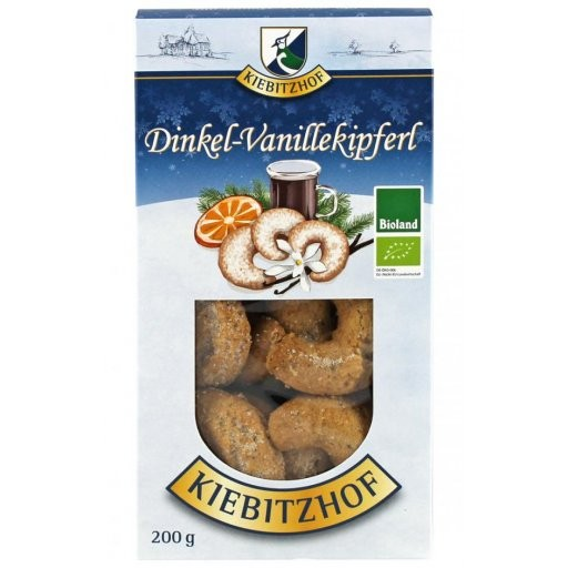 Dinkel-Vanillekipferl BIOLAND, 200g