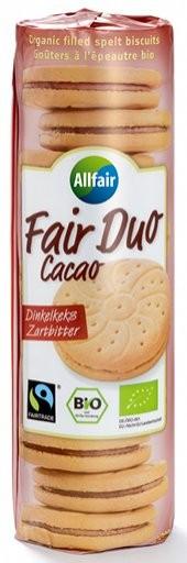 Dinkel-Doppelkeks mit Zartbitterfüllung FairTrade, 300g