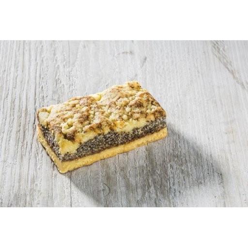 Mohn-Kuchenschnitte ca.95g - Grossgebinde, Stück