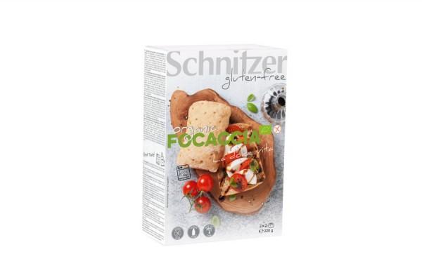 Aufback Focaccia mit Kräutern glutenfrei 2St, 220g