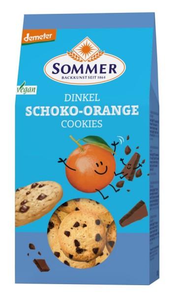 Dinkel-Schoko-Orange-Cookies DEMETER, 150g