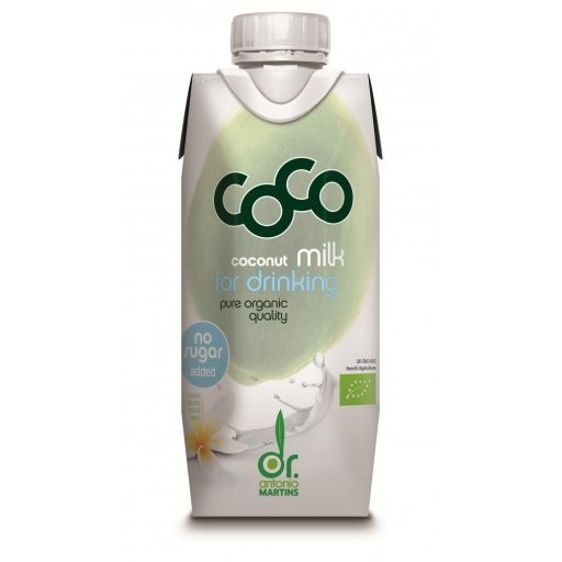 CoCo Milk for Drinking - Tetrapak, 330ml