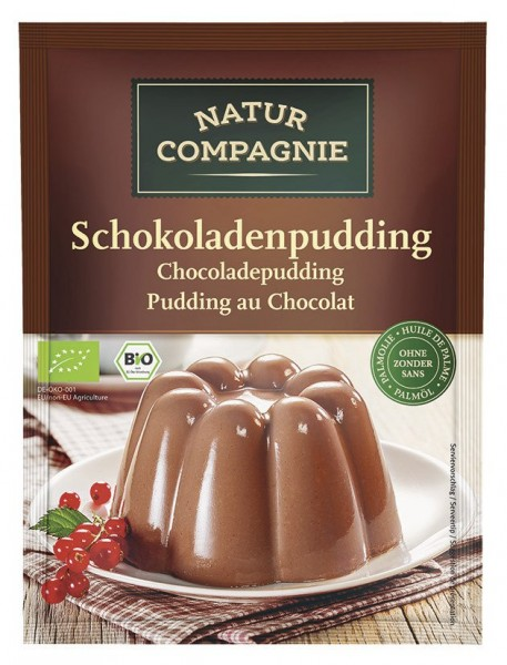 Schokoladenpudding, Beutel