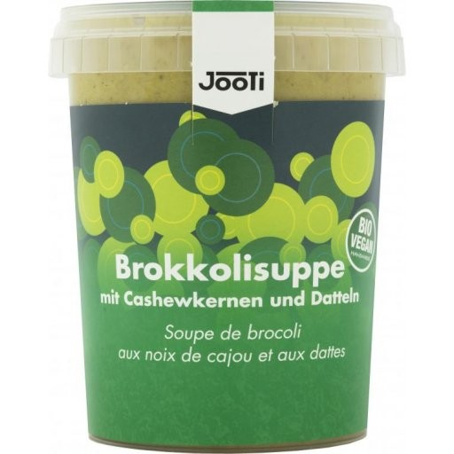 Frische Brokkoli-Cashew-Suppe, 450g