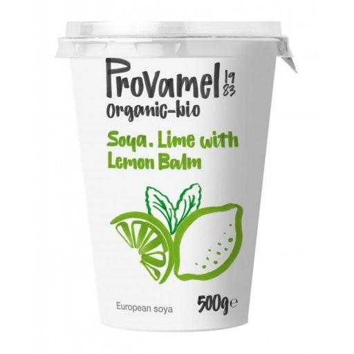 Soja-Jogurtalternative Limone-Melisse, 500g