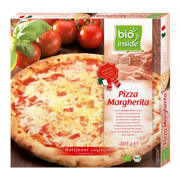 TK-Pizza Margherita bio inside, 305g