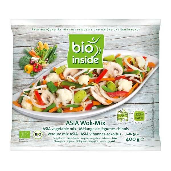TK-Asia-Mix Wokgemüse bio-inside, 400g