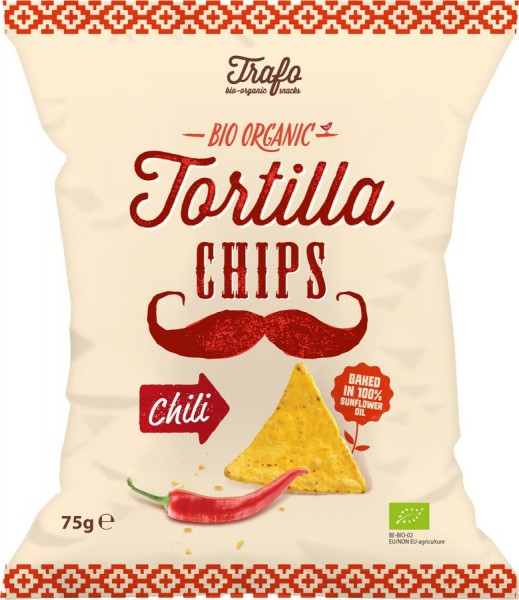 Tortilla-Chips Chili, 75g