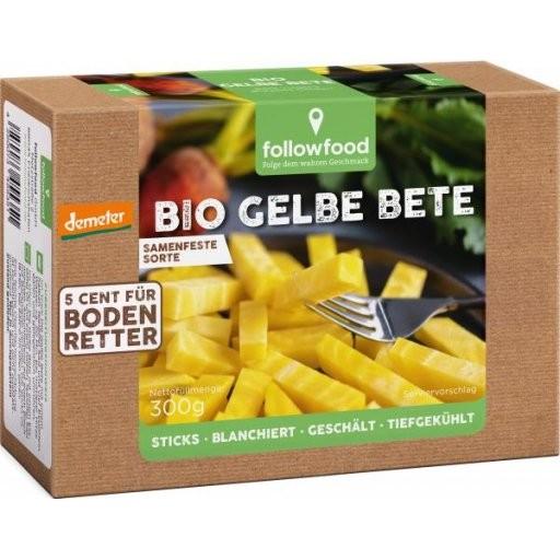 TK-Gelbe Bete-Sticks blanchiert geschält DEMETER, 300g