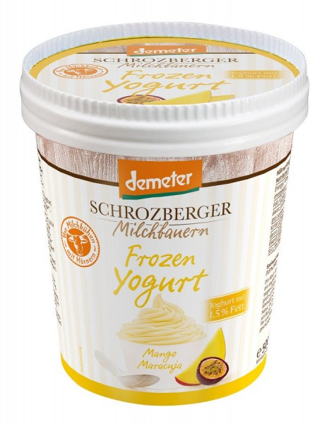 Familieneisbecher Frozen Yogurt Mango-Maracuja, 500ml