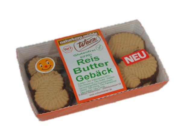 Reis-Vollkorn-Butter-Gebäck glutenfrei, 125g
